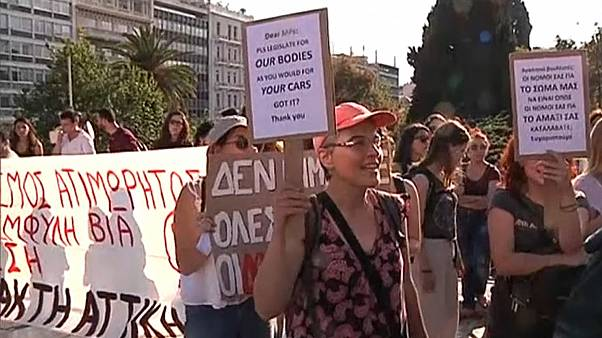 Greek government changes definition of rape after initial draft law sparks backlash