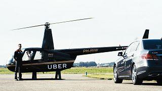 Uber helikopter seferlerini başlatıyor