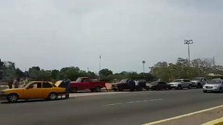 Venezuela prestes a ficar sem gasolina