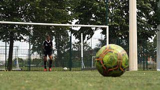 Lyon girls' club FC Gerland has been running for three years