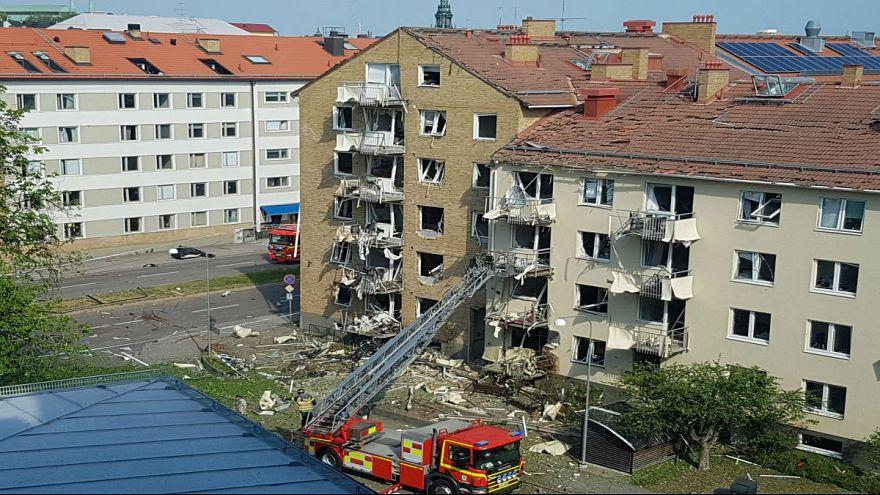 انفجار در سوئد دستکم ۲۵ زخمی برجای گذاشت