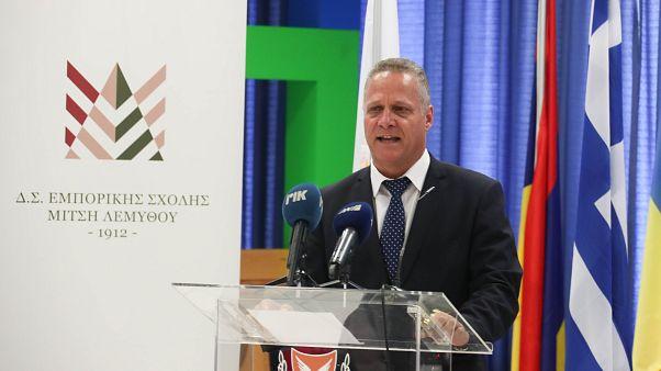 O Υπουργός Παιδείας της Κύπρου Κώστας Χαμπιαούρης