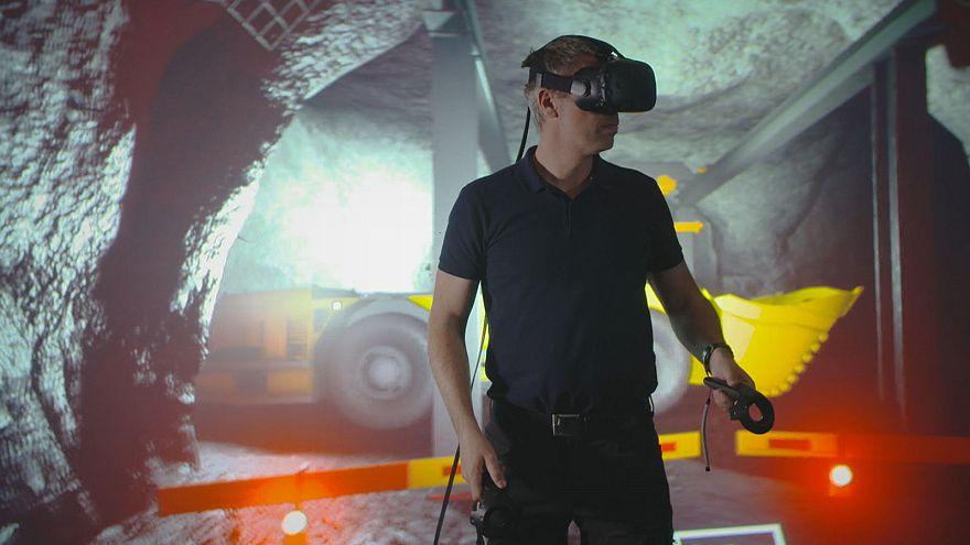 Drónt, szimulátort, távvezérlést a bányákba