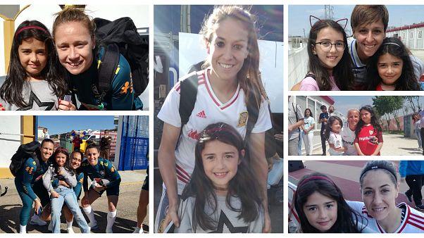 Mundial de fútbol femenino 2019: Estas niñas españolas no quieren quedarse fuera de juego