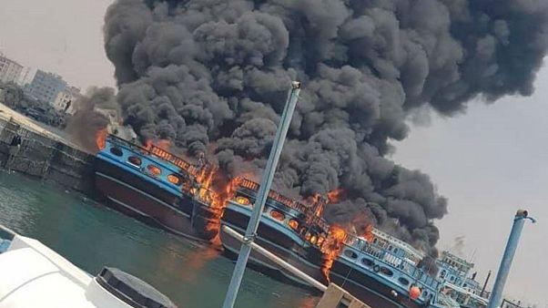 حادثه برای چند شناور ایران در خلیجفارس