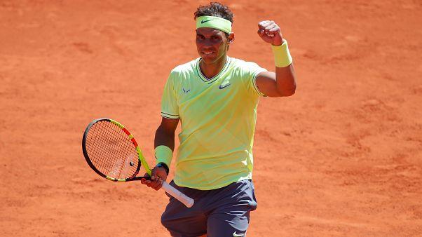 Nadal alcanza su duodécima final de Roland Garros