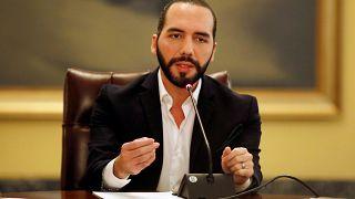 El Salvador Devlet Başkanı Nayib Bukele