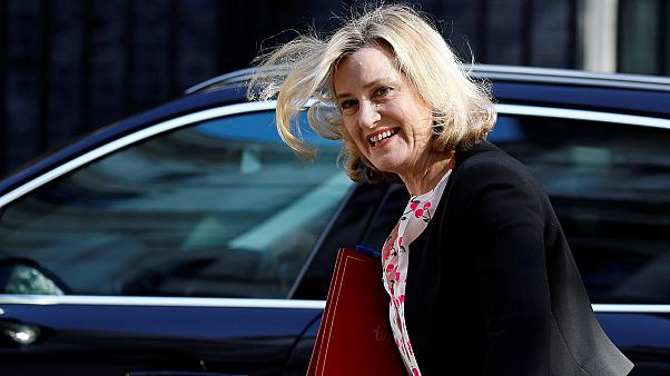 Britain's Secretary of State for Work and Pensions Amber Rudd