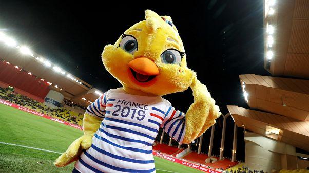 Ettie, la mascotte officielle de la Coupe du monde 2019