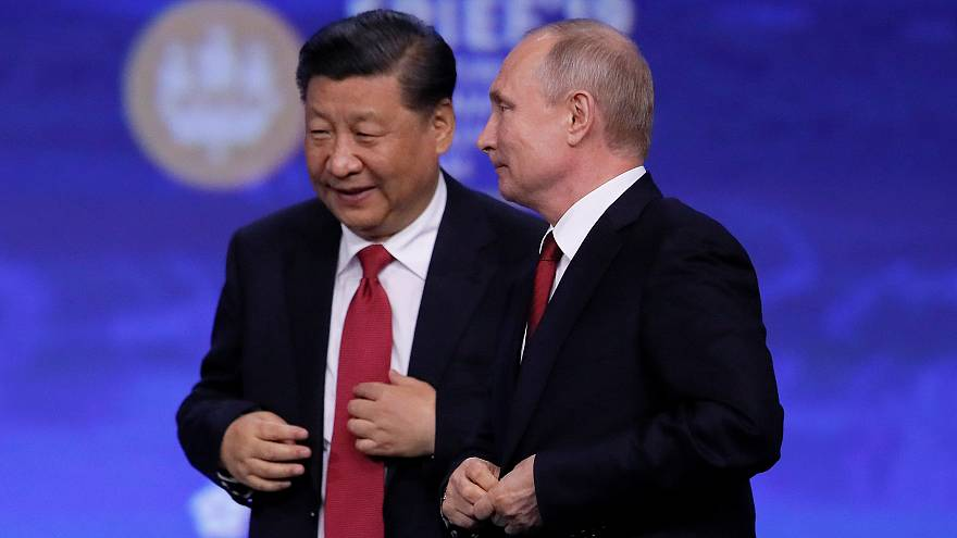 """Путин и Си осудили """"политику экономического эгоизма"""""""