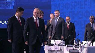 """Putin: """"As guerras comerciais podem levar a guerras reais"""""""