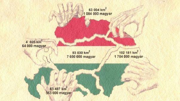 Elítéli a magyar kormány által közzétett Trianon-térképet Szlovénia