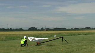 SNAM sperimenta l'uso di droni per il controllo della rete gas