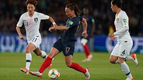 Kadınlar Dünya Kupası açılış maçında Fransa Güney Kore'yi 4-0 yendi