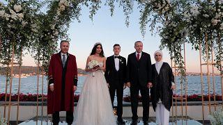 Hochzeit von Mesut Özil: Erdogan war auch da -  5 Fotos