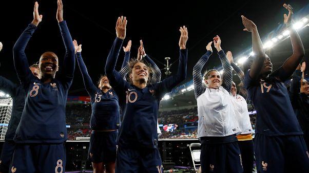 """Frankreich gewinnt WM-Eröffnung: """"45.000 Menschen im Stadion, gigantisch"""""""