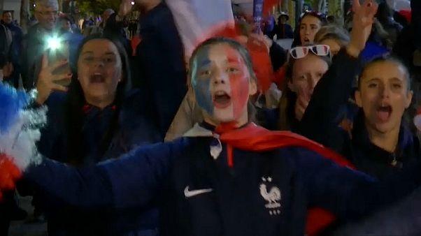 """""""Триумфальный"""" старт французских футболисток"""