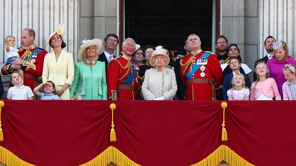 Família real celebra o aniversário oficial da Rainha Isabel II