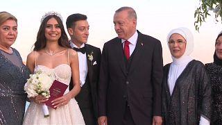 Özil-Hochzeit: Erdoğan war Trauzeuge