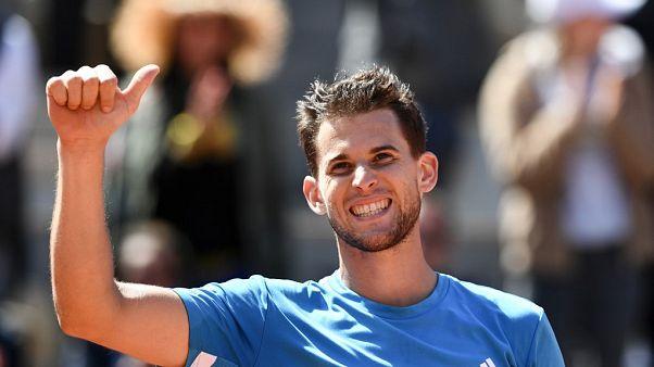 Fransa Açık'ta finalin adı belli oldu: Thiem, Nadal'a karşı