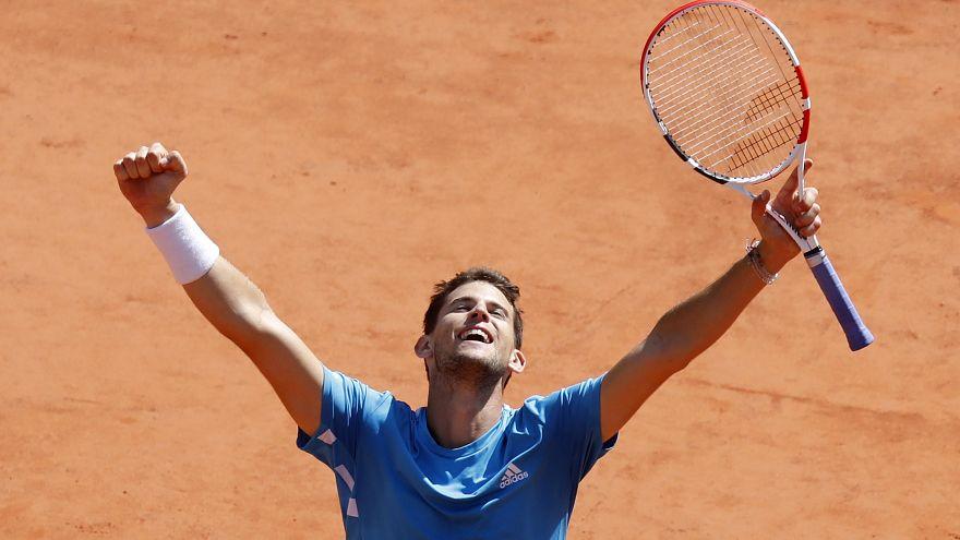 Dominique Thiem se impone a Novak Djokovic en la semifinal de Roland Garros