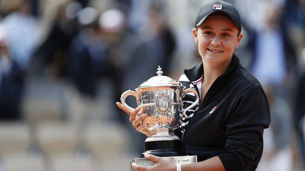 Barty nyerte a Roland Garros női egyesét