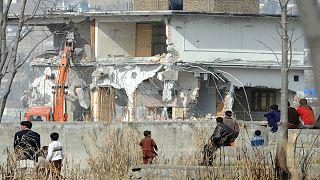 البيت الذي كان يتواجد فيه أسامة بن لادن قبل مقتله في باكستان