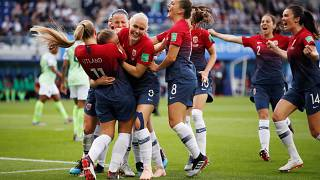 Image result for FIFA 2019: Norway cruise to opening victory over Nigeria