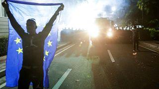 Tirana: Neuer Gewaltausbruch bei Massendemonstration