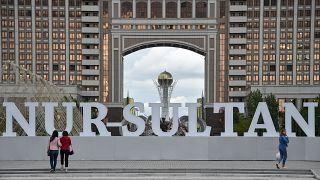 مركز مدنية نور سلطان عاصمة كازاخستان. حزيران/2019