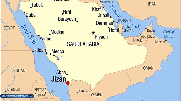 حوثیها: فرودگاه جیزان عربستان را با پهپاد هدف قرار دادیم
