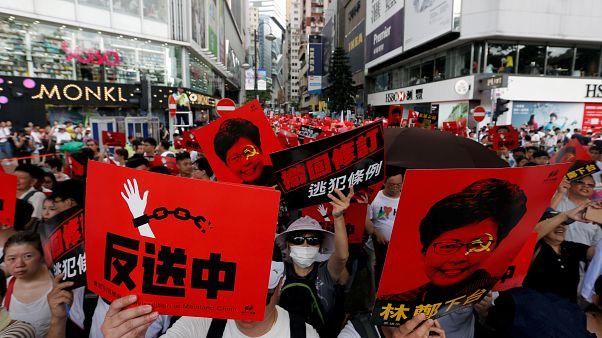 اعتراضات سراسری به قانون استرداد مجرمان هنگکنگ به چین شدت گرفت
