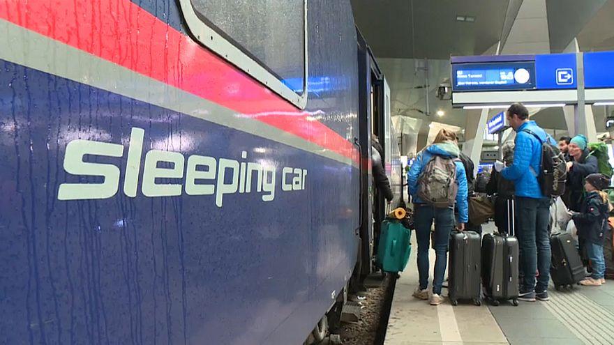 Austria recupera el tren nocturno europeo