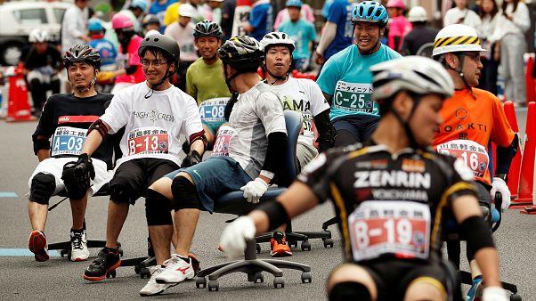 مسابقه «صندلیسواری» در ژاپن