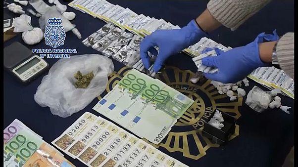 Desmantelada rede ibérica de tráfico de pessoas e de droga