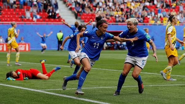 2019 Women's World Cup: Italy snatch shock victory over Australia
