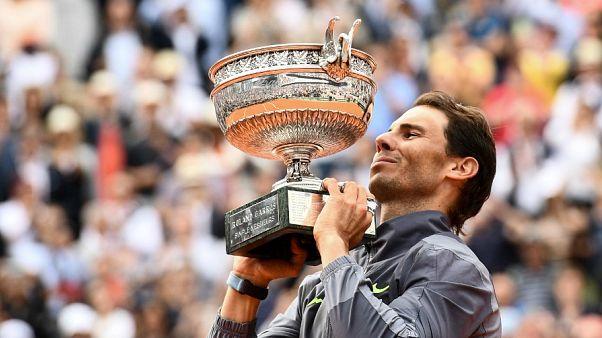 Fransa Açık'ta erkekler tekte Nadal kendi rekorunu kırdı: 12. kez şampiyon