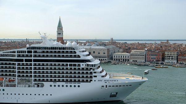 Poluição gerada por navios-cruzeiro atinge recorde