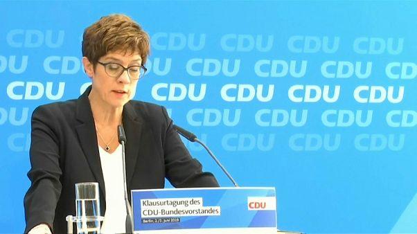 La CDU teme la subida de Los Verdes en Alemania