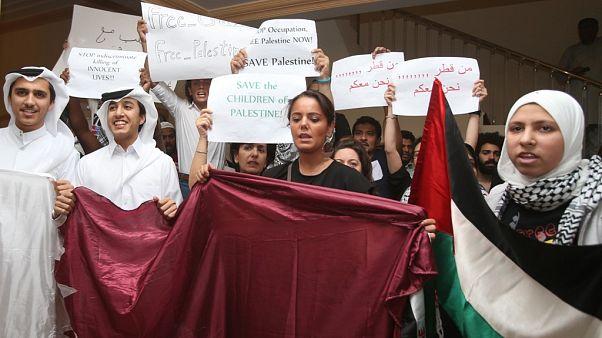 Katar: Filistinlilerin onaylayacağı herhangi bir barış planını biz de kabul edeceğiz