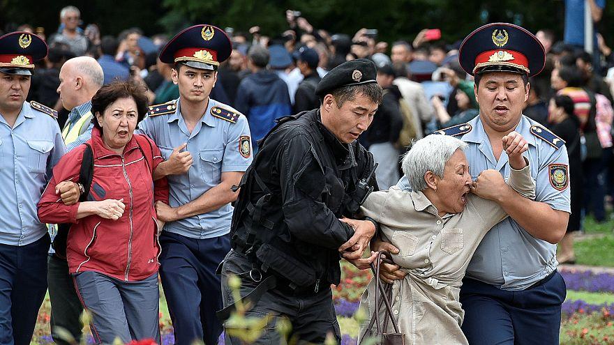 Centenas de detidos nas presidenciais do Cazaquistão