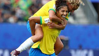 FIFA Kadınlar Dünya Kupası: Brezilyalı Cristiane bir maçta üç gol atan en yaşlı futbolcu oldu