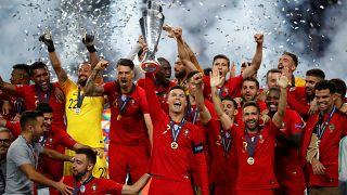 Portugal win inaugural UEFA Nations League tournament