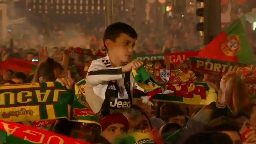 شاهد: إحتفالات البرتغاليين بتتويج منتخبهم بأول نسخة من دوري الأمم الأوروبية