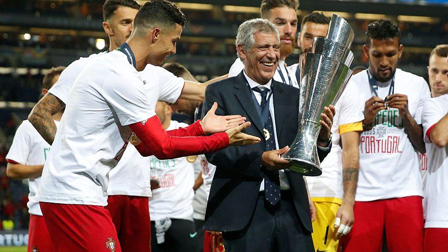 Portugal conquista primeira Liga das Nações