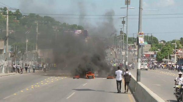 Βίαιες διαδηλώσεις στην Αϊτή