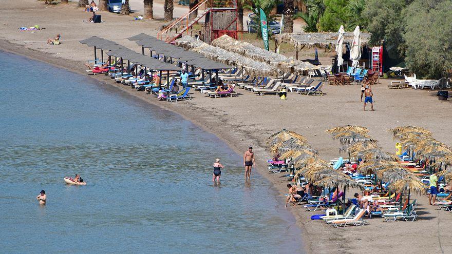 Παραλία της Καραθώνας στο Ναύπλιο