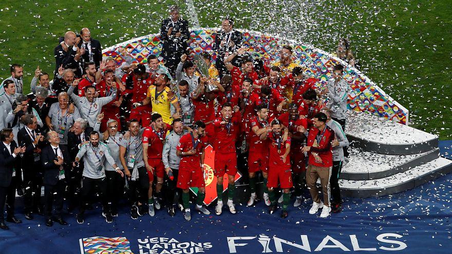 Uluslar Ligi'nde Portekiz şampiyon oldu