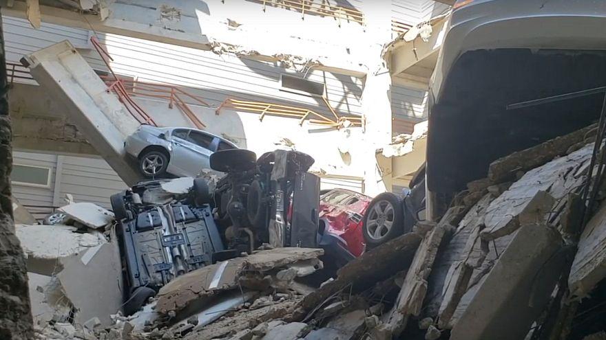 Ντάλας: Ένας νεκρός από κατάρρευση γερανού σε πολυκατοικία