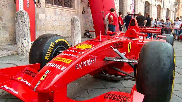 Le favolose rosse a Siena